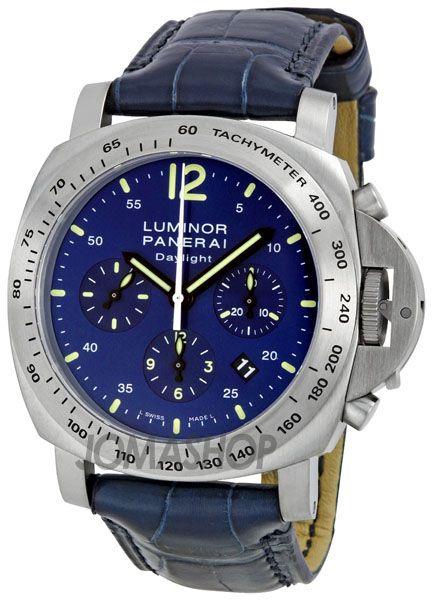 Panerai Luminor Chronograph Mens Watch. List price: $10100