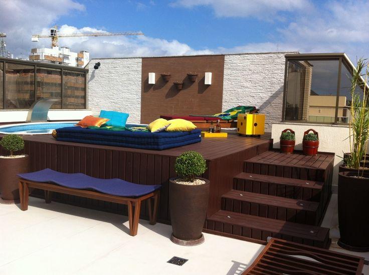 25 melhores ideias sobre piscina elevada no pinterest for Decorar piscina elevada