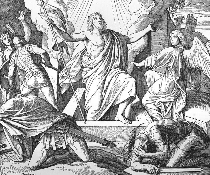 Bilder der Bibel - Die Auferstehung Jesu - Julius Schnorr von Carolsfeld