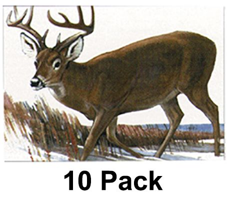 """MAPLE LEAF PRESS INC NFAA Deer Target 28'x40"""""""" ( Group 1 ), 10P"""