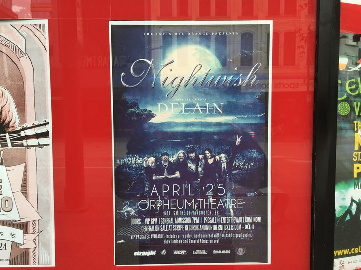 Two of my favourite symphonic metal bands together. :-)