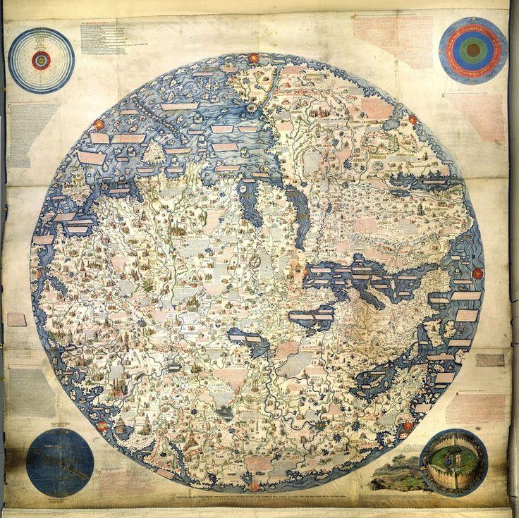 One of the first u0027modernu0027 world maps