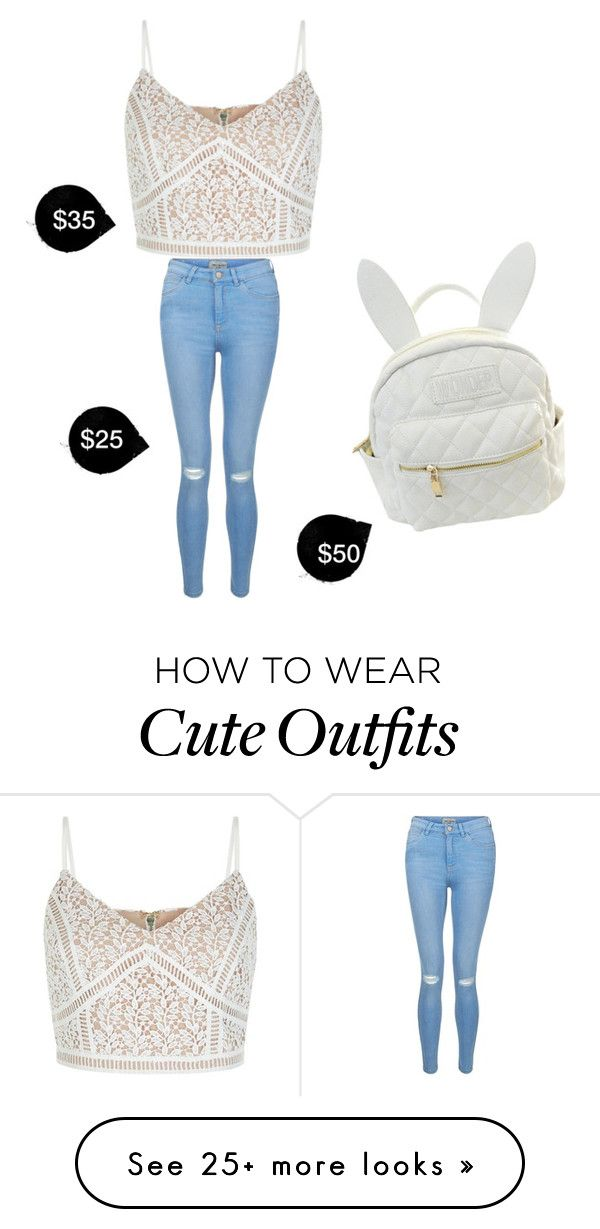 """""""My First Polyvore Outfit"""" by princessora on Polyvore featuring New Look and cutekawaii"""