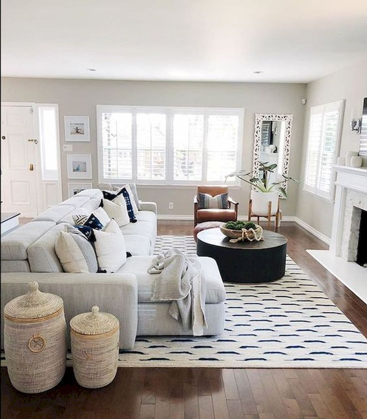 70 Best Farmhouse Living Room Decor Ideas And Remodel Living