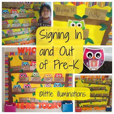 little illuminations: Signing In and Out in Pre-K