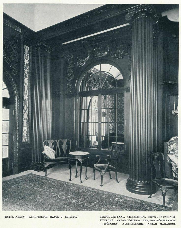 https://flic.kr/p/yfKxnz | Innendecoration 1908 Berlin Hotel Adlon  i