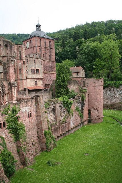 #Heidelberg Castle, #Germany                                                                                                                                                      Mehr