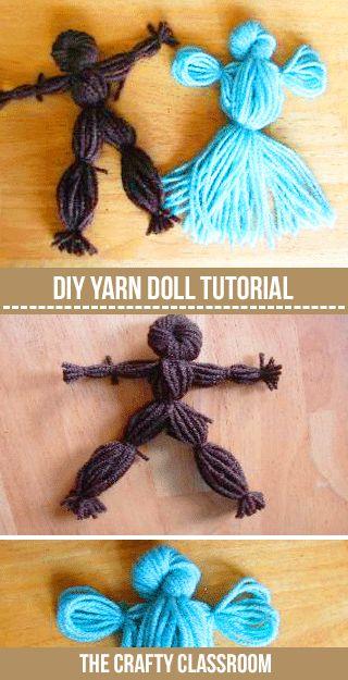 Pioneers - Yarn Doll Craft (USA)