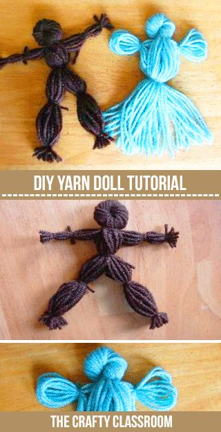 Pioneers - Yarn Doll Craft (USA)