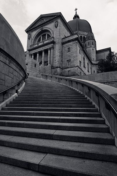 church stairs | Stairs Oratoire Saint Joseph | Andre Gunther Photography