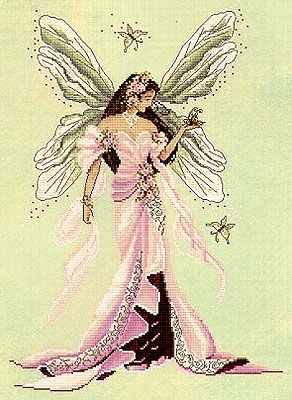 Dawn, Fairy Spirit of Grace - Cross Stitch Pattern