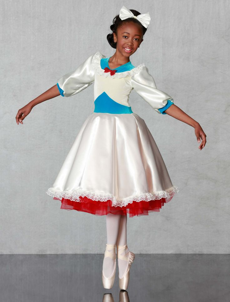 SWEET SAILOR - Adorable dress with cream and turquoise stretch velvet bodice, cream satin skirt and sleeves and attached red petticoat. Hair-bow included, made in all child and adult sizes.