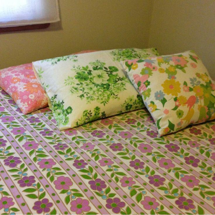 vintage pillow cases vintage bedding