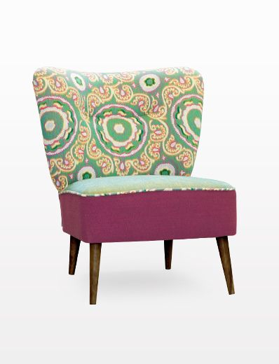 CHAIR LINDA FLOWERS The original appearance of this armchair won't let for boredom. If  you are seeking for a way to change your room and expects the functionality and the convenience, armchair Linda will be the excellent choice