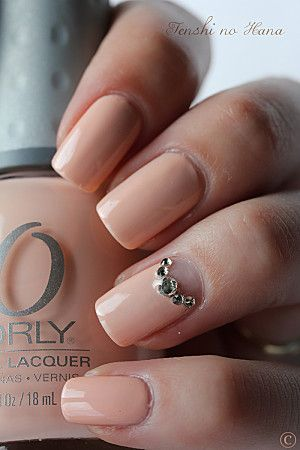 Orly – Prelude to a Kiss, Gorgeous Nail Color for a Wedding! Follow #somethingtreasured