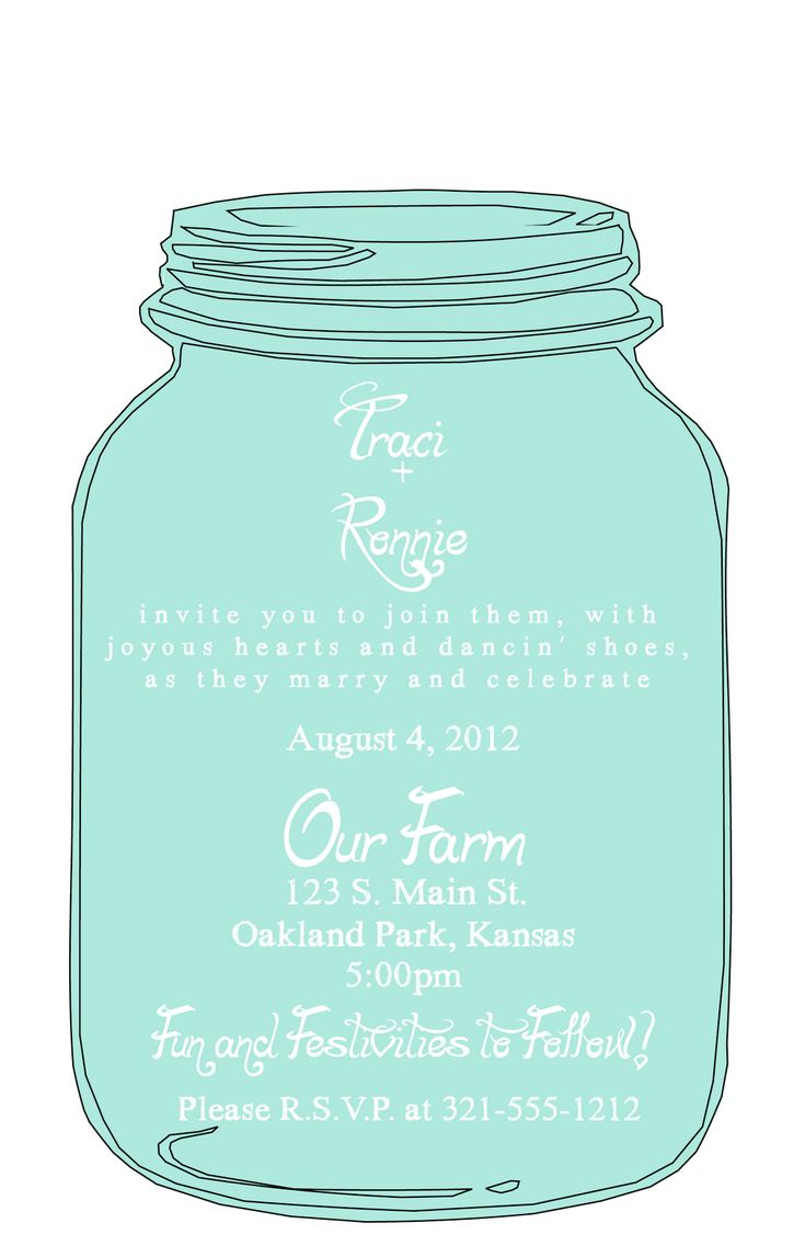 best 25 mason jar invitations ideas on pinterest mason jar tags image tags for mason jars. Black Bedroom Furniture Sets. Home Design Ideas