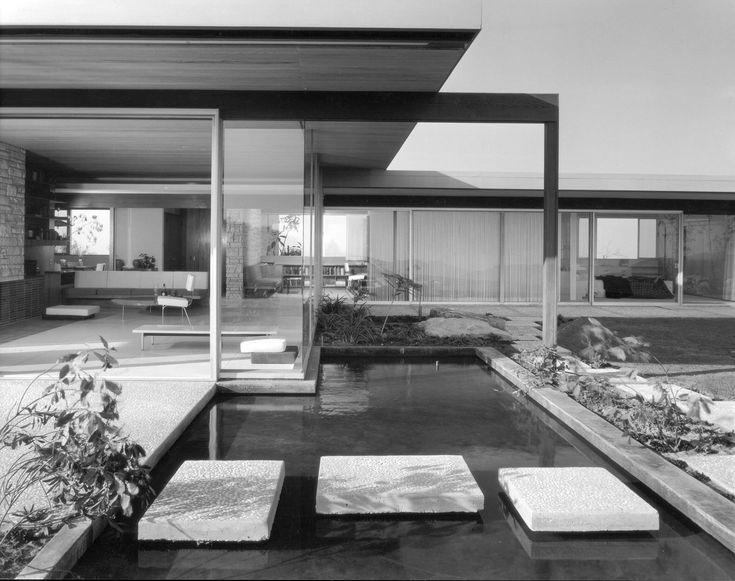 Richard Neutra's Singleton House, L.A. 1958