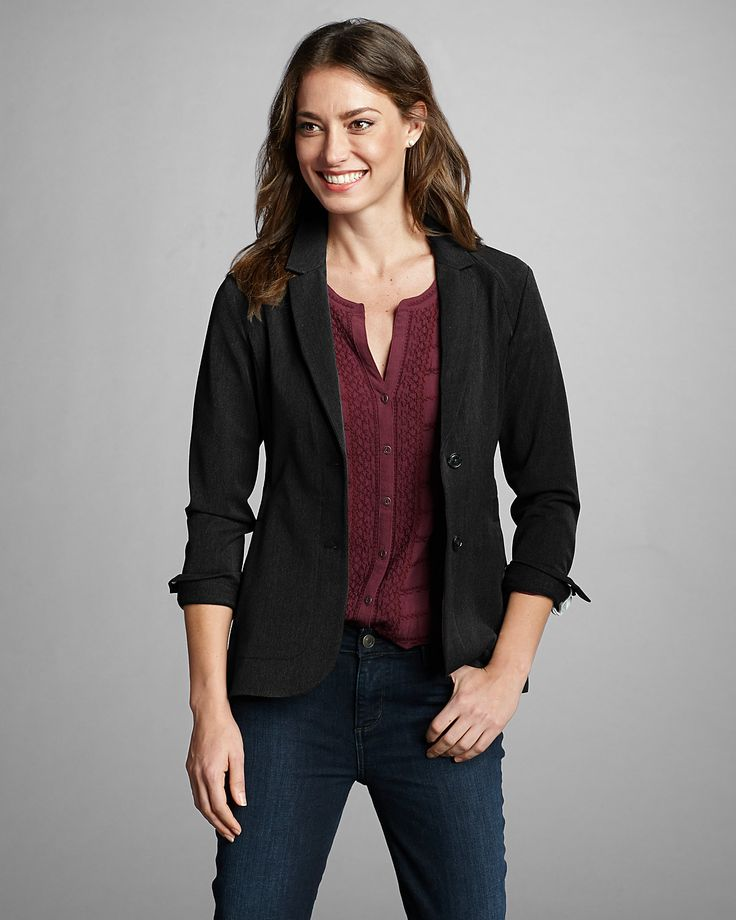 Women's Travel Blazer | Eddie Bauer; I like the jacket and the shirt