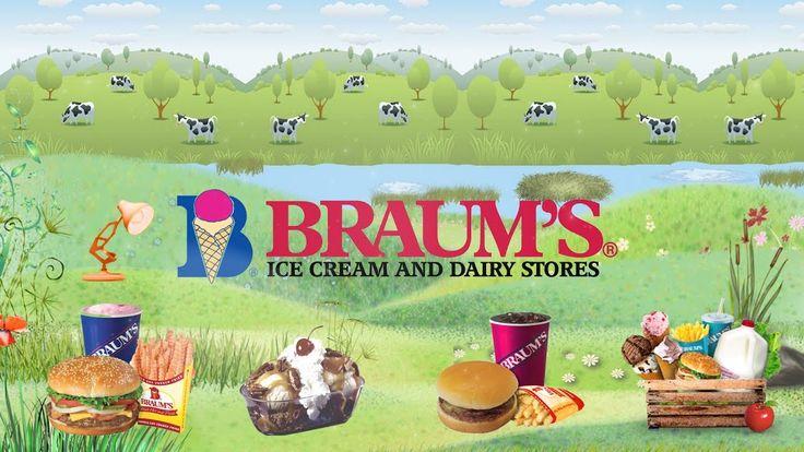 726-Braum's Ice Cream Shop & Burger Restaurant Spoof Pixar Lamps Luxo Jr...