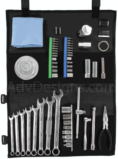 Ultimate Compact Tool Kit for BMW R1200GS, GSA, RT, R,  & S MADE IN USA with LIFETIME WARRANTY