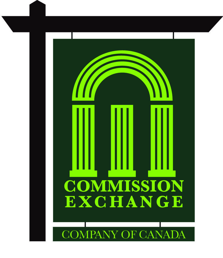 Commission Exchange Logo designed by Fusion Studios Inc.