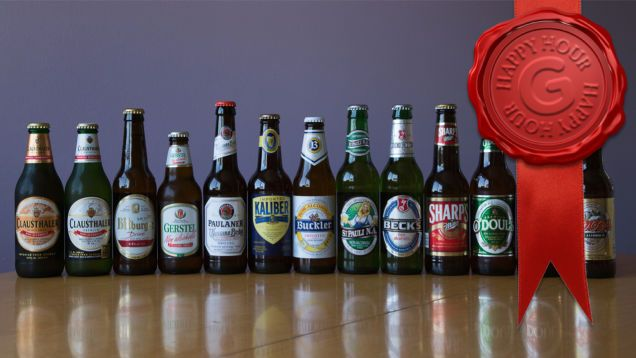 Non-alcoholic beers take a lot of flack, and rightly so. The great majority of them taste like swampwater (and give you less of a buzz). But are any of them actually good? We tried 14 different non-alcoholic beers to find out. And the answer is a definitive yes.