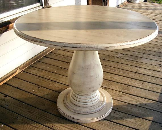 36 Inch Pedestal Table Inch Round Pedestal Table Huge Solid Wood