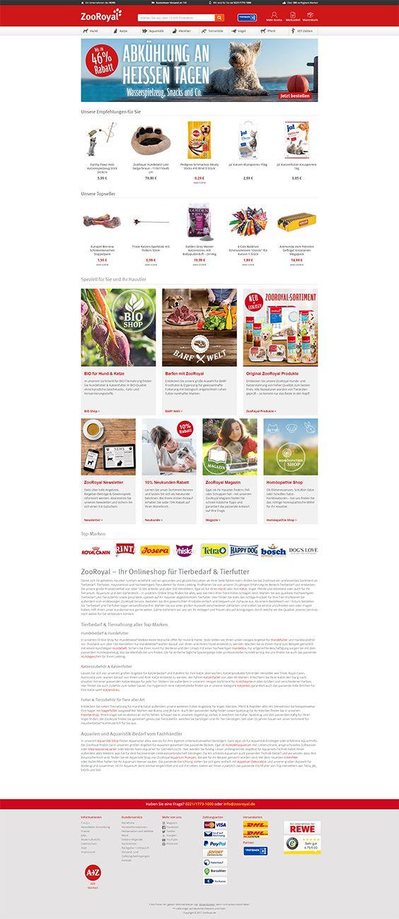 #ShopwareDesign #ShopwareTheme #ShopwareShop #eCommerce #eCommerceSoftware #eCommerceplatform #Onlineshop #pets #petshop #zooroyal #wirliebentiere