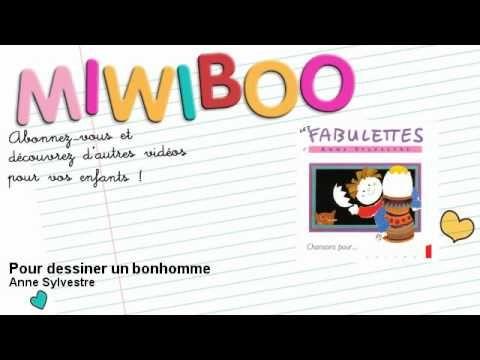 ▶ Anne Sylvestre - Pour dessiner un bonhomme - Miwiboo - YouTube