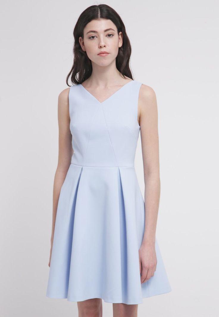 Blauw kanten jurkje stylefruits
