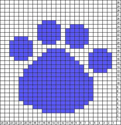 Dog Paw Knitting Pattern : 492 best Mallit images on Pinterest Fair isles, Knitting ...
