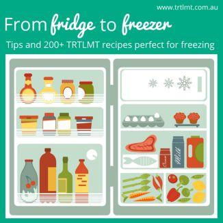 From fridge to freezer: 200 freezer friendly recipes!
