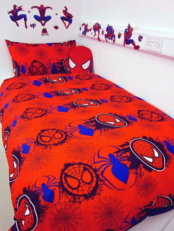 40 Best Spiderman Duvet Cover Images On Pinterest