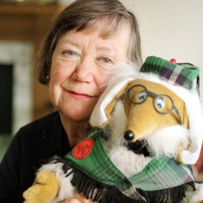 Elisabeth Beresford with The Wombles
