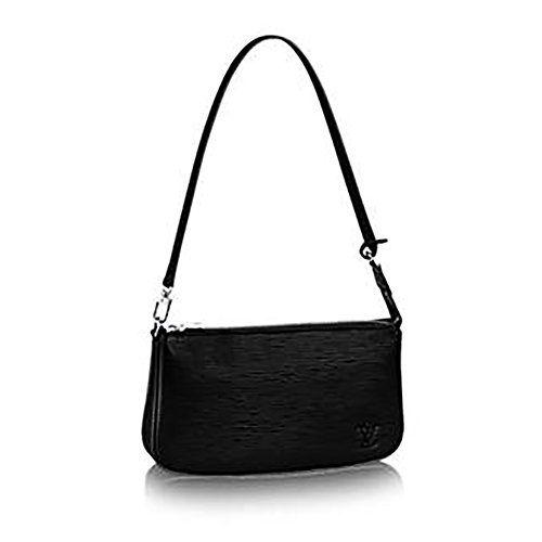 Authentic Louis Vuitton Monogram Canvas Shoulder Bag Clutch Handbag Pochette Accessoreis NM Article:  Made in Italy