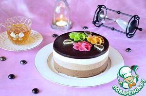 """""""Торт """"Три шоколада"""""""" мы готовили на мастер-классе в Кулинарной Академии Эктора под руководством Лизы Глинской! Заходите посмотреть, потому как тут есть два бонуса - рецепт Бисквита (печенья) """"Савоярди"""" и зеркальной глазури!"""
