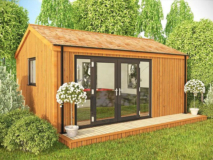 Garden Lodges From Oeco Offer Apex Roofs & Bespoke Design To You
