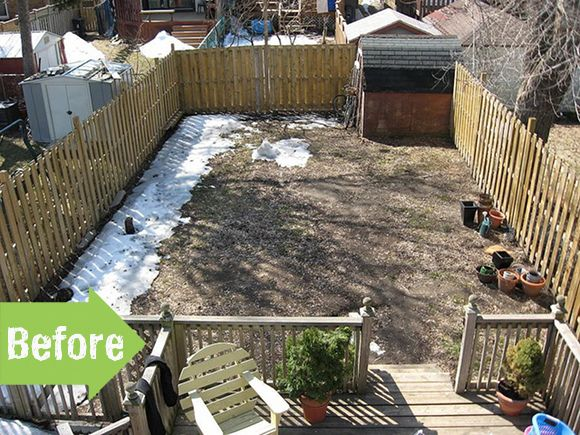 31 best images about before after garden makeovers on for Garden design ideas before and after