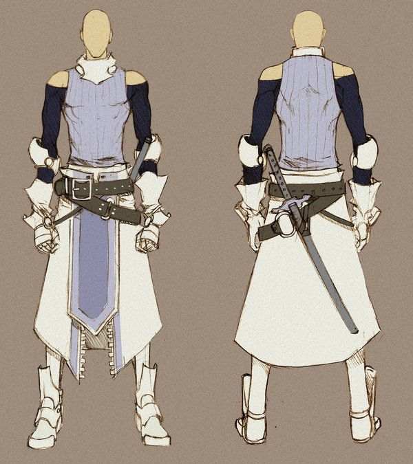 White Swordman - concept by MizaelTengu on deviantART