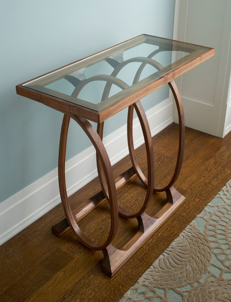 Coil Console by Derek Hennigar  Wood Console Table. 115 best Steam bending images on Pinterest   Steam bending wood