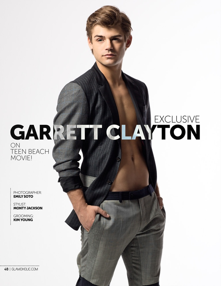 Glamoholic.com | Exclusive Interview With Garrett Clayton: Teen Beach Movie