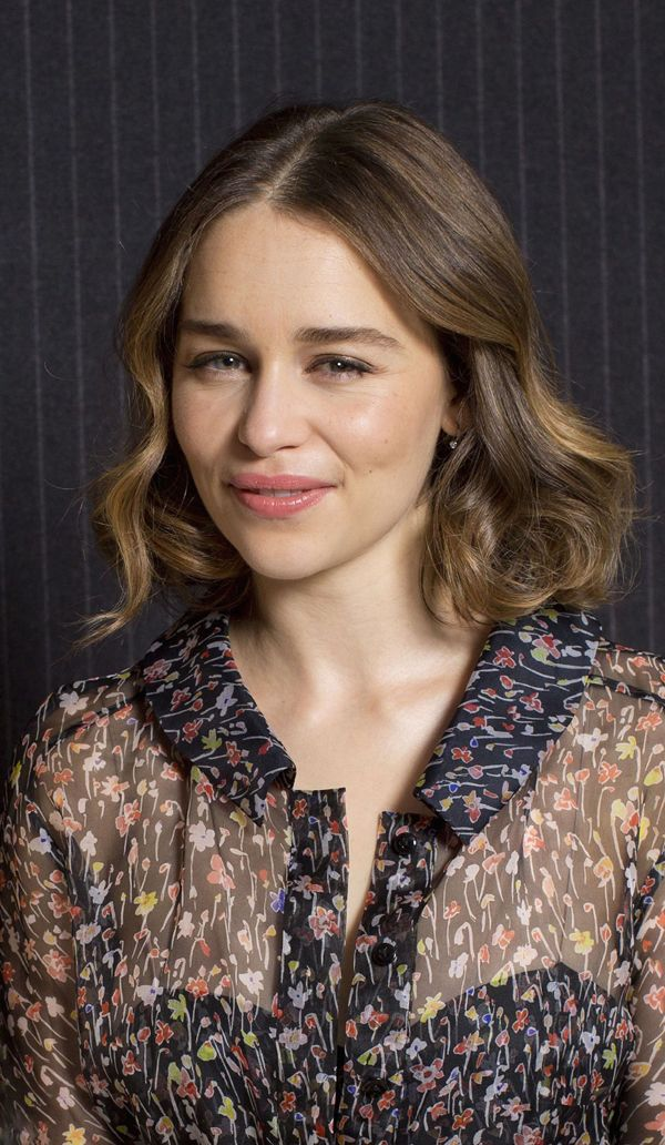 Emilia Clarke Hair. #emiliaclarke #celebrity