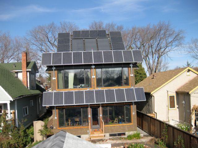 Mill Creek Net Zero Energy Home In Edmonton Alberta