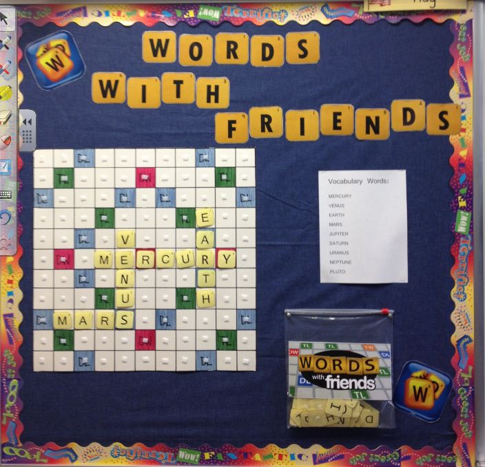 fascinating Thank You Bulletin Boards Ideas Part - 3: Words with Friends {for the classroom} thank you @Teresa Selberg . I  soooooooo love it!!!! | Behavior | Pinterest | Classroom, Vocabulary bulletin  boards ...