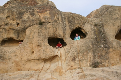 Rock City in Walnut Creek.  Go for a nice long hike and discover all the caves in rock city!  Camping is near by.