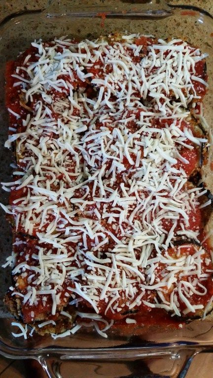 Healthy Eggplant Parmesan - Nutrition and Wellness for Life