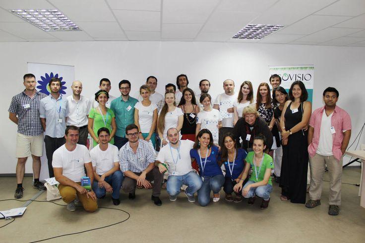 MEGA as a finalist at ClimateLaunchpad National Final in Chisinau, Moldova.