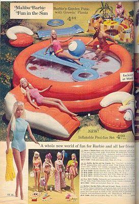 """Barbie """"Fun in the Sun"""" pool!"""