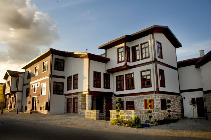 Geçmişte Ankara evleri, restore edilmiş Ankara evleri.