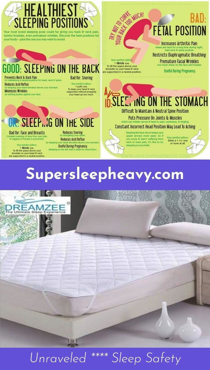Read More About Choosing The Best Mattress Healthy Sleeping Positions Facial Wrinkles Sleeping Positions